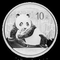 1 oz Silbermünze - chinesischer Panda - 2015
