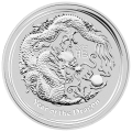 5 oz 2012 Lunar Year of the Dragon Silver Coin