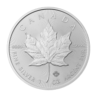 1 oz 2015 Canadian Maple Leaf Zilveren Munt