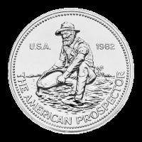 1 oz Random Year Engelhard Prospector Silver Round