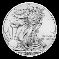 1 oz Silbermünze - amerikanischer Adler - 2015