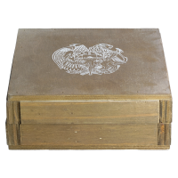 Puste Pudełko na 1/2 oz Srebrne Monety Armeńska Arka Noego