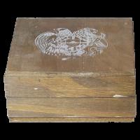 Boîte (monster box) vide pour pièces d'argent Arche de Noé arménienne de 1/4 once