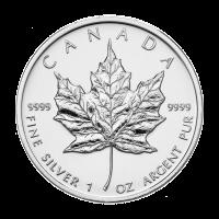 1 oz kanadische Silbermünze - Ahornblatt - 2009