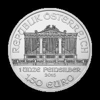 Pièce d'argent Philharmonique d'Autriche 2015 de 1 once