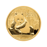 1/2 oz Goldmünze - chinesischer Panda - 2015