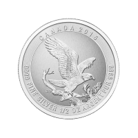 1/2 oz Silbermünze - Weißkopfadler - 2015