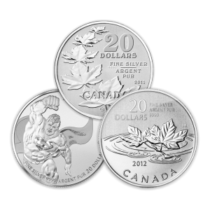 Random Year 1/4 oz $20 for $20 Silver Coin