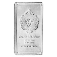 Barra de Plata Apilable de Scottsdale Mint de 10 oz