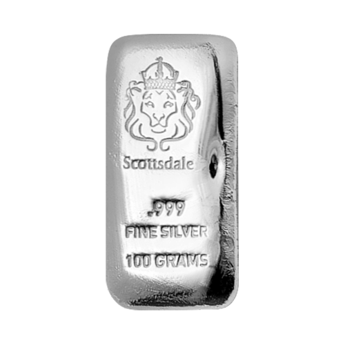 Scottsdale Prägeanstalt Logo - Scottsdale - .999 - Feinsilber - 100 Gramm