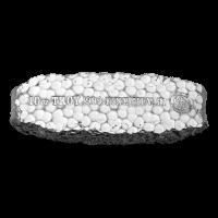 10 oz Silberbarren der Scottsdale Prägeanstalt - Grabstein Silberklumpen