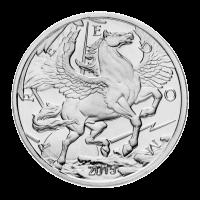 1 oz Silbermedaille - Pegasus - 2015