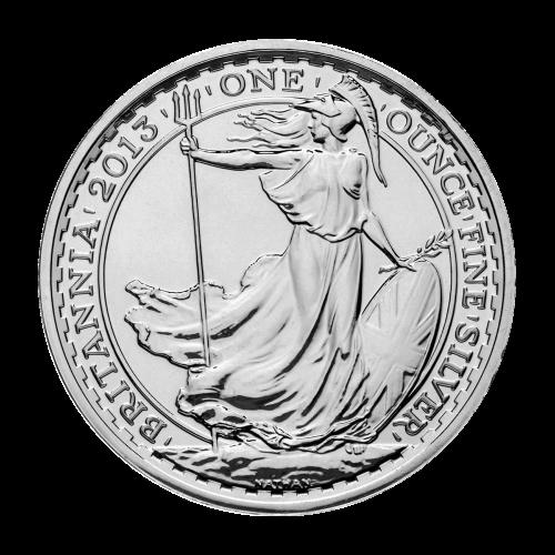 1 oz Silbermünze Britannia Mondserie Jahr der Schlange Sonderprägezeichen 2013