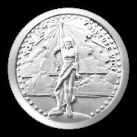 1 oz Silbermedaille - Non Vi Virtute Vici - 2015