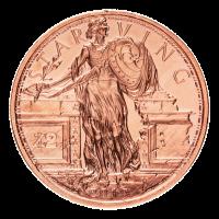 1 oz Kupfermedaille - hungernde Freiheit - Zombucks