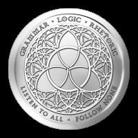 1 oz Silbermedaille - Trivium - 2015