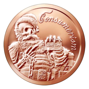 1 oz 2015 Consumerism Copper Round