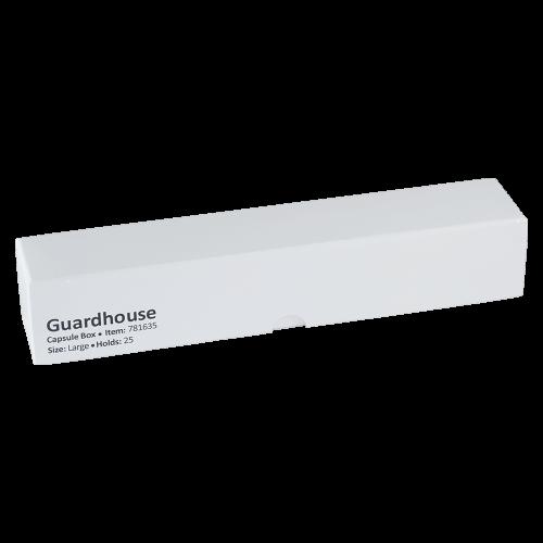 Leere, kleine Kapselbox von Guardhouse