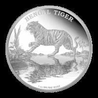1 oz Silbermünze - Königstiger - limitiert 2015