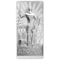 2 oz limitierte Silbermünze Götter des antiken Griechenlands   Apollo