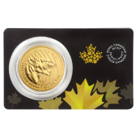 1oz 2015 Call of the Wild Series | Growling Cougar Gold Coin