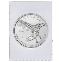 1oz 2015 Birds of Prey Series | Red-Tailed Hawk Flex Sealed Silver Coin