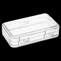 Stapelbares durchsichtiges Gehäuse für 10 oz stapelbaren Silberbarren der Scottsdale Prägeanstalt