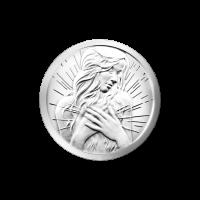 1/4 oz Silbermedaille - innerer Frieden - 2015