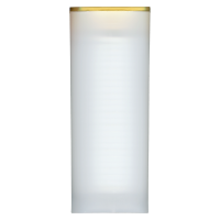 Lege Koker met Geel Deksel voor 3/4 oz tot 1.5 oz RCM Zilveren Munten