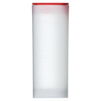 Empty Red Lid Tube for 3/4 oz to 1.5 oz RCM Silver Coins
