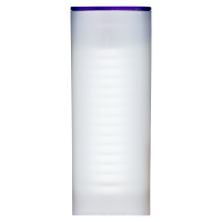 Empty Purple Lid Tube for 3/4 oz to 1.5 oz RCM Silver Coins