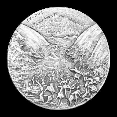 """Ein Raphael Maklouf Abbild der Königin Elizabeth II. und die Worte """"Queen Elizabeth II Niue Two Dollars 2 oz 999 Fine Silver 2015"""" (Königin Elizabeth II Niue Zwei Dollar 2 oz 999 Feinsilber 2015)."""