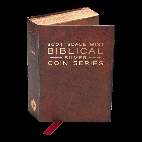 2 oz Silbermünze - biblische Serie | Exodus - 2015