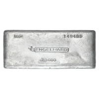 20 oz Engelhard Silver Bar