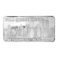 10 oz Wall Street Mint Sølvbarre