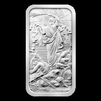 10 oz Silberbarren - Jesus säubert den Tempel