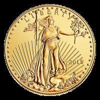 1 oz Goldmünze - amerikanischer Adler - 2015