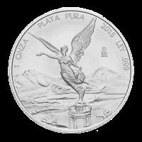 1 oz Silbermünze - mexikanische Libertad - 2015