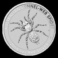 1 oz 2015 Australian Funnel-Web Spider Silver Coin