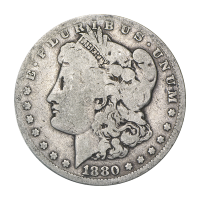 1878-1904 Morgan Silver Dollar Average Circulation Silver Coin