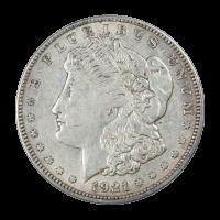 1921 Morgan Silver Dollar VF Silver Coin