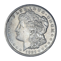 1921 Morgan Silver Dollar AU Silver Coin