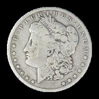 1921 Morgan Dollar Silbermünze VG (sehr gut)