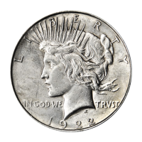 Random Year Peace Dollar VG+ Silver Coin
