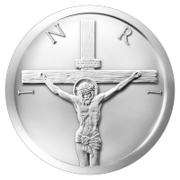 2 oz Silbermedaille - Kreuzigung - 2015
