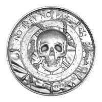 2oz Privateer Collection | Privateer Ultra High Relief Silver Round