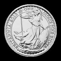 1 oz Silbermünze Britannia 2013