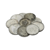 $10Face Value Bag of Canadian Circulation 80% Pure Silver Coins