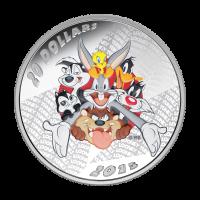 1 oz Silbermünze - Looney Tunes™ Abspann - 2015 limitiert
