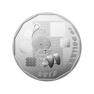 Looney Tunes™ 2015 de 1/2 once | Pièce d'argent Belle Epreuve (numismatique) Tweety Bird: I Tawt I Taw A Putty Tat